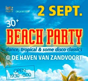 30+ Dance & Tropical Strandfeest Letz Party