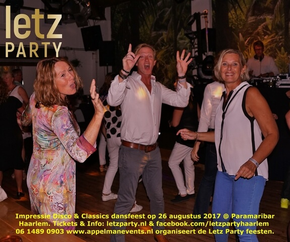 Foto's Try out Disco & Classics Party Paramaribar 26 aug 2017