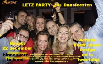 Win tickets door een Letz Party 30+ feest op Facebook te delen.