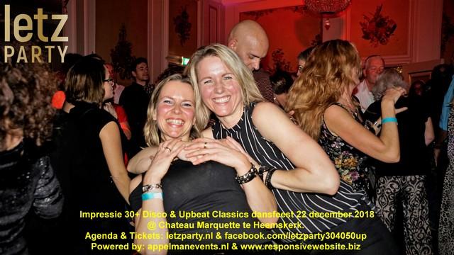 22 december 2018 Disco & Upbeat Classics dansfeest @ Chateau Marquette