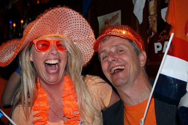 27 april Koningsfeest. Teambuilding