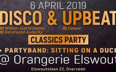 Letz Party 6 april @Elswout Overveen. 13 april DJ workshop. 27 april Koningsfeest.